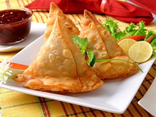 Creamy Corn Samosa - Gujarati Food and Recipe
