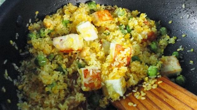 Gujarati Food Recipe - Paneer Masala Khichadi