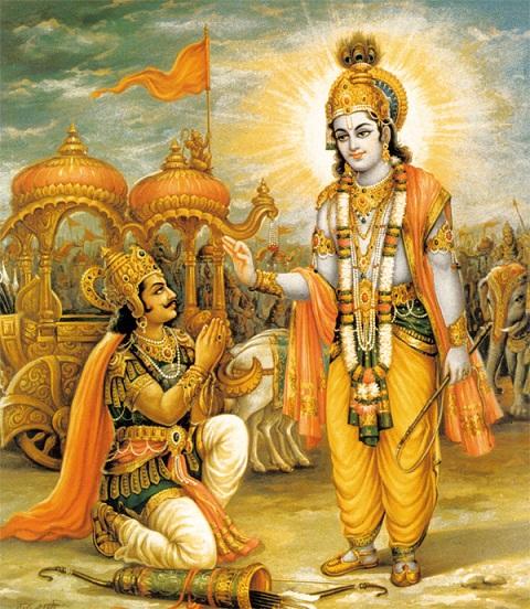 bhagwad gita Shree Krishna to Arjun In Maha Bharat