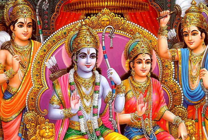 Rama and Sita to receive inspiration from