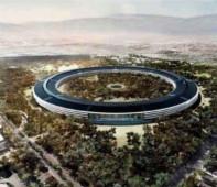 એપ્પલ ની નવી ઓફીસ બની છે સ્પેસ શીપ  જેવી