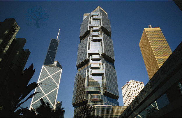 bank of China Tower Hongkong