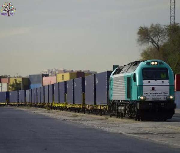 World's bigest long train