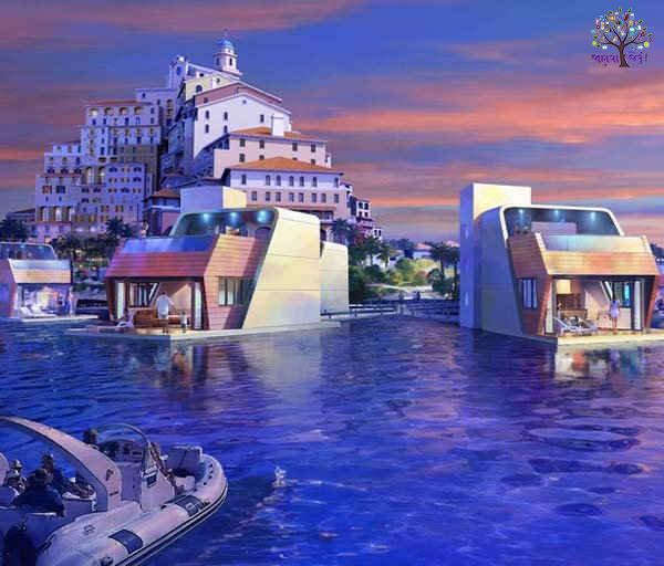 દુબઈમાં સમુદ્રની અંદર બની રહ્યા છે લક્ઝરી વિલા, ઈમારત હશે ત્રણ માળની