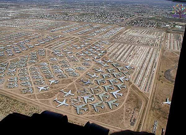 1300 ફૂટબોલ મેદાન બરોબર છે વિમાનોનું સૌથી મોટું કબ્રસ્તાન, જુઓ  તસવીર