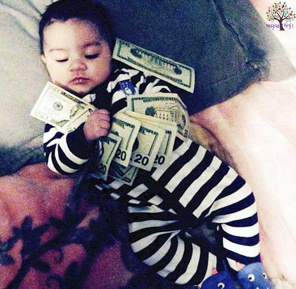 Dollars not toys, jewelery instagramana Rich Baby Play
