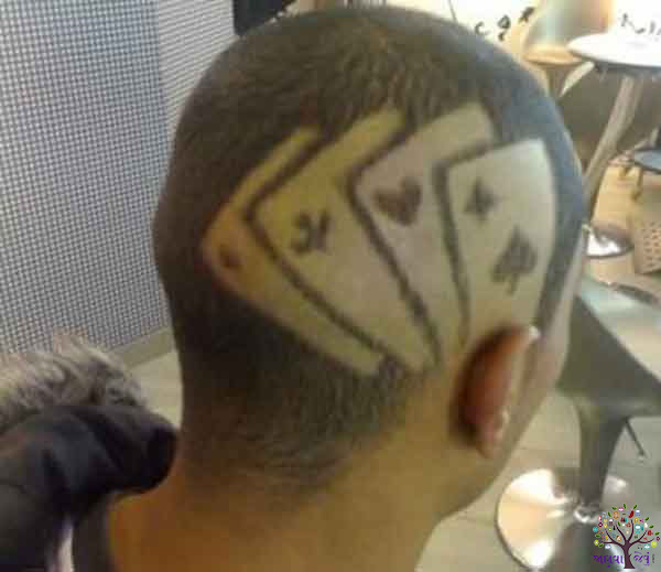 This 10 AWESOME Hair Tattoo, Cool Look shows such Hair CUT, see image