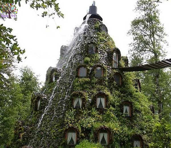 mazing magical hotel montana magica shaped like a volcano in janvajevu.com