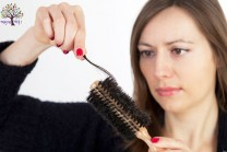 Fallen, white hair permanently get rid of the problem