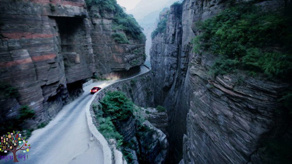 Making Chinese engineering  the tunnel, people have come to see the world