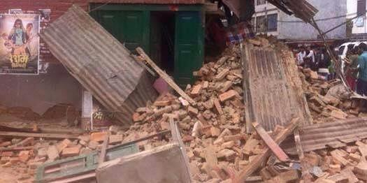 New photos of the earthquake of Nepal