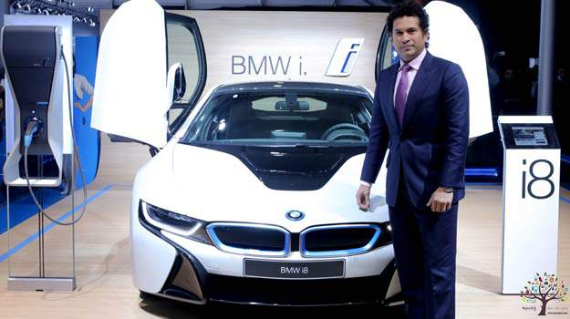 80 crore are Sachin bungalow, the owner of 13 luxury cars
