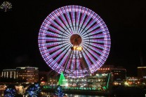 This is the world's 9th highest Fairy wheels, World Record, which has been made