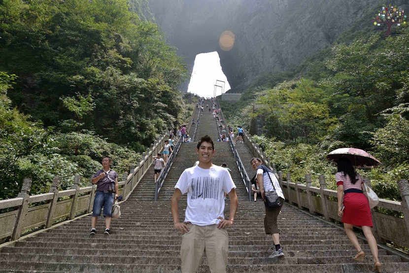 It is located 4,196 feet above the heavens gate, millions are