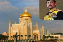 Brunei golden sulatanah wardrobe, everything from aircraft golden palace!