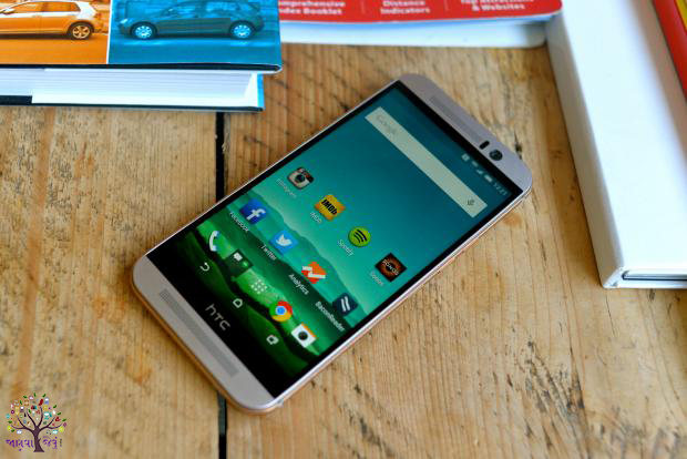 HTC has launched with a fast processor and three cameras One M9 +