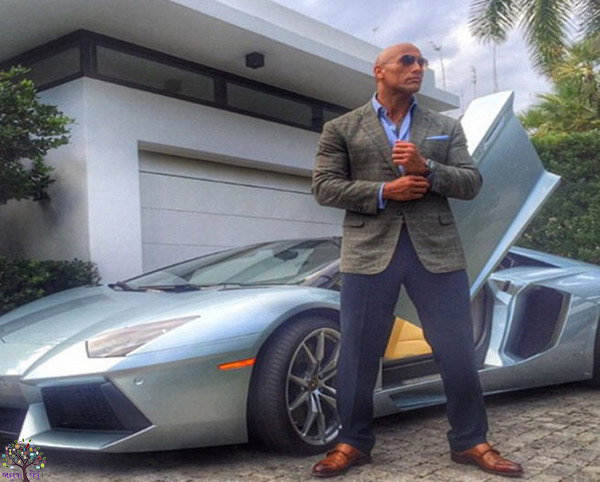 'The Rock' has been living with a regal tech SPORTS CARS