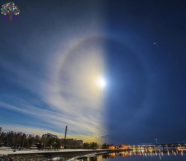 NASA took the rare photographs, SUN and MOON appeared in the same place