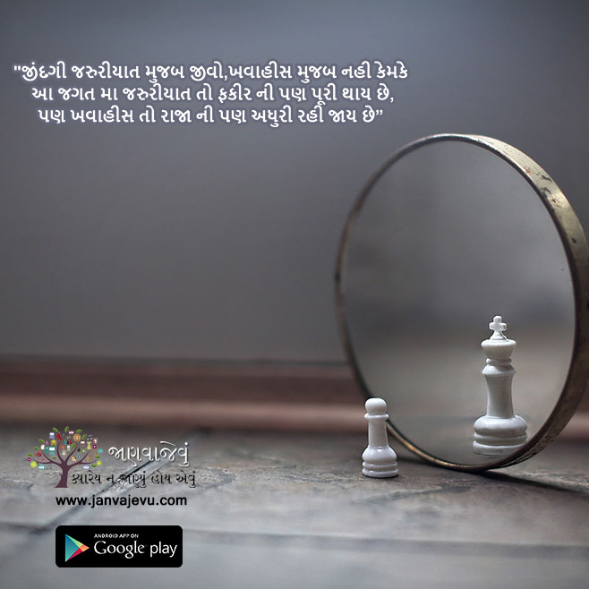 life, happiness, Gujarati Quotes Images displayed in Gujarati Fonts
