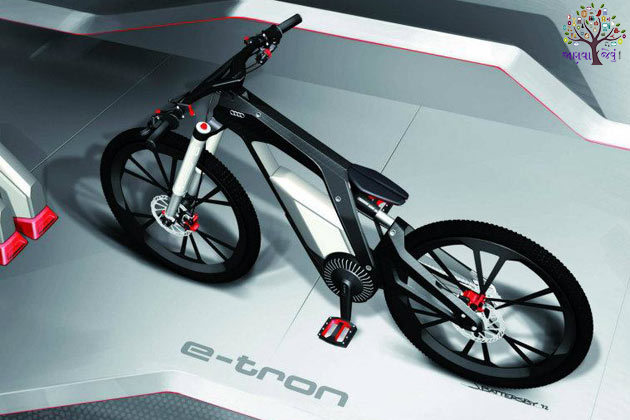 Audi iPhone is less than the weight of the bicycles