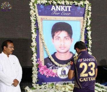 ક્રિકેટ દીગ્ગજોએ અંકિત કેસરી ને આપી શ્રદ્ધાંજલિ