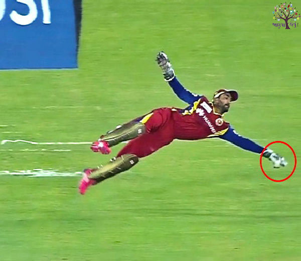TOP 10 CATCHES not only the viewer, IPL also took the Best