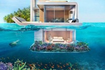 Dubai will be the world's first floating this Luxurious Home