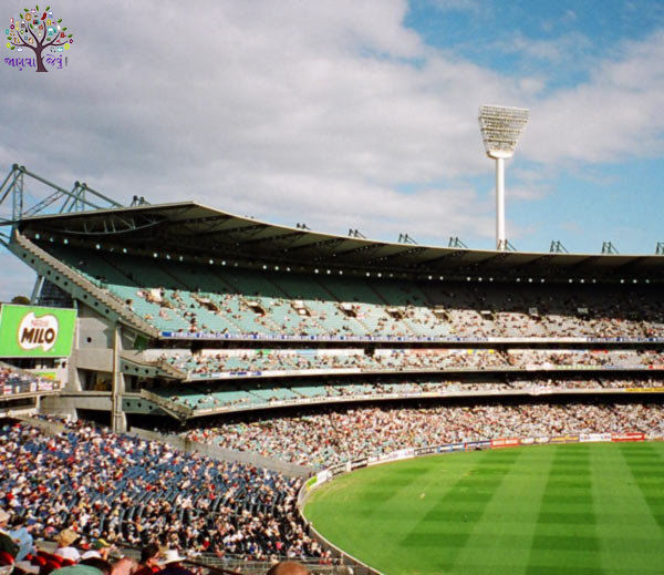 Melbourne Cricket Stadium is being prepared as Gujarat Stadium