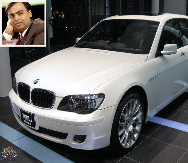 Mukesh Ambani will become the owner of the BMW, other industrialists Car Collection