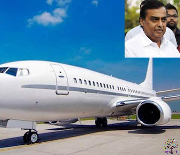 Learn how the Indian billionaires private jet is gorgeous!