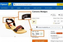 Flipkart offering a discount of fake products being sold