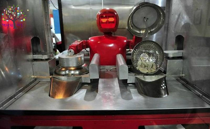 Hi-tech Robots, ranging from creating a mess to wash the food is up to the job