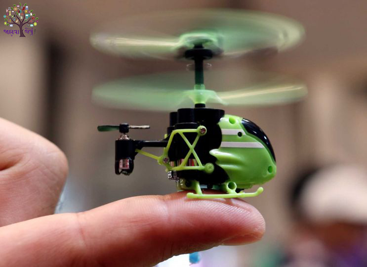 This is the world's smallest helicopter, the price just Rs 2800