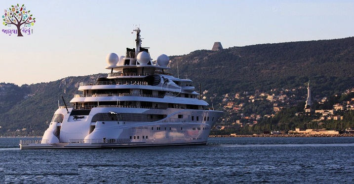 5 biggest and most expensive yacht in the world, equipped with luxury amenities from