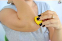 These simple measures will remove the lemon ... elbow blackness