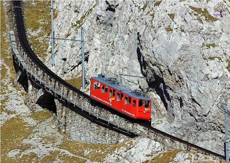See ... World's  most dangerous railway tracks