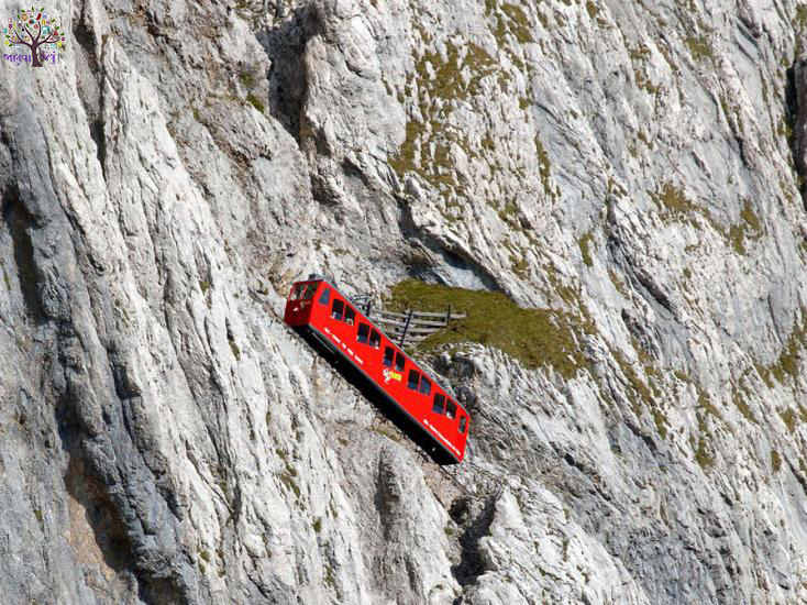 See ... World's  most dangerous railway tracks