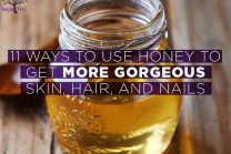 Skin, hair and nail care using honey