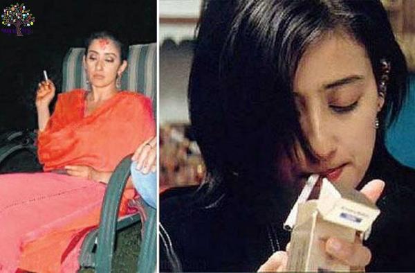 Actress Rani, the cigarettes are sokhina 10 Bollywood ektresisa