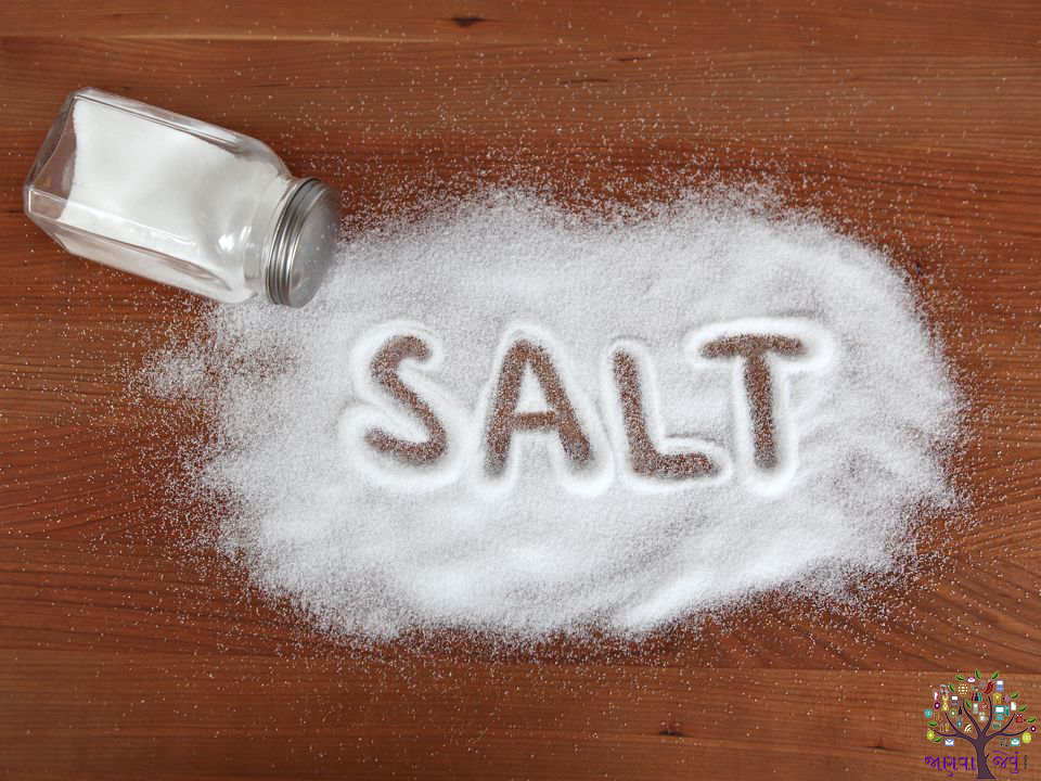 How much salt should be? Each of us must come to know the benefits of eating less salt!