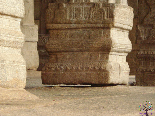 70 air hanging pillar of the temple, the British also did not find a mystery