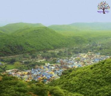 રાજસ્થાનમાં વરસાદ બાદ આવો હોઈ છે નજારો