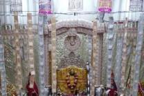 7 lakh-rupee notes Laxminarayan God decoration