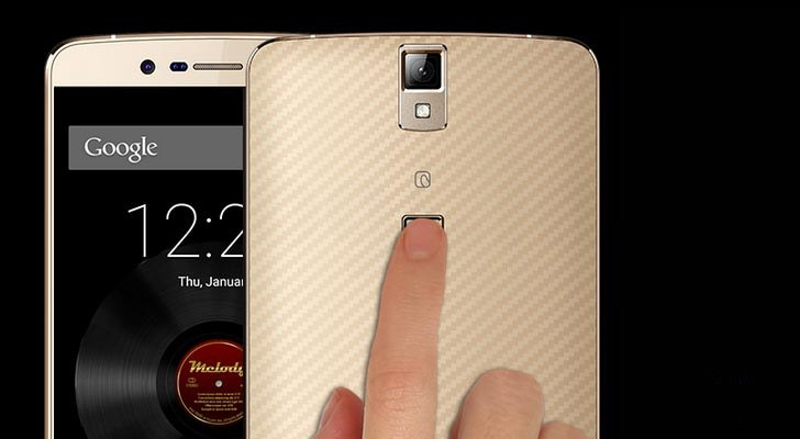 IBerry launched in the 14.900 fingerprint sensor smartphone features Learn