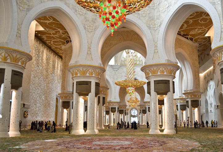 World's most beautiful mosque, sheikh zayed grand mosque