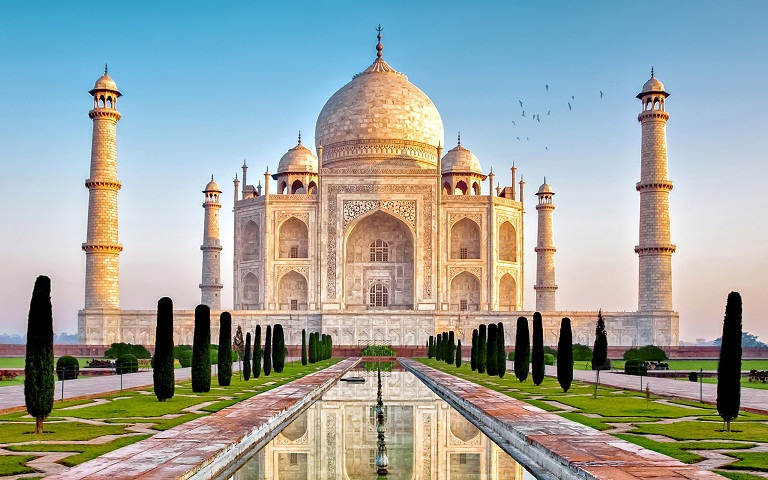 Top Historic Place of the Taj Mahal third
