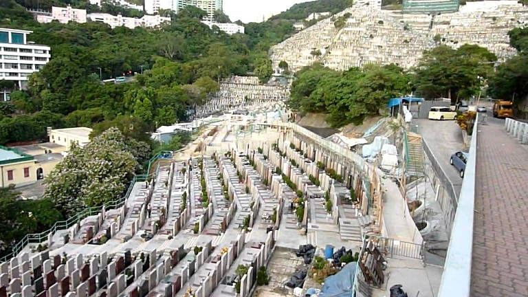This is Chinese Cemetery in Hong KongThis is Chinese Cemetery in Hong Kong