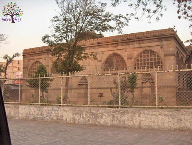 Sidi Syed mosque - a sample of a attractive  carvings