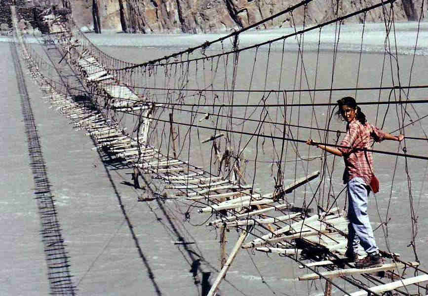 This is World's dengerous bridge