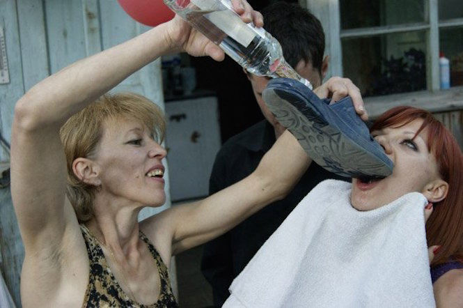 pictures that prove russians are craziest and party the hardest